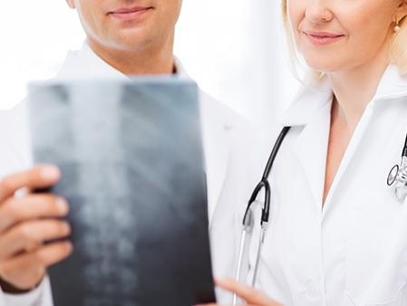 Service de radiologie numérique accessible sur place